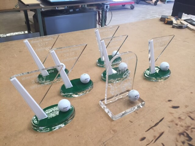 Acrylic Golf Trophies (1)