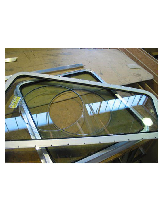 acrylic boat windows